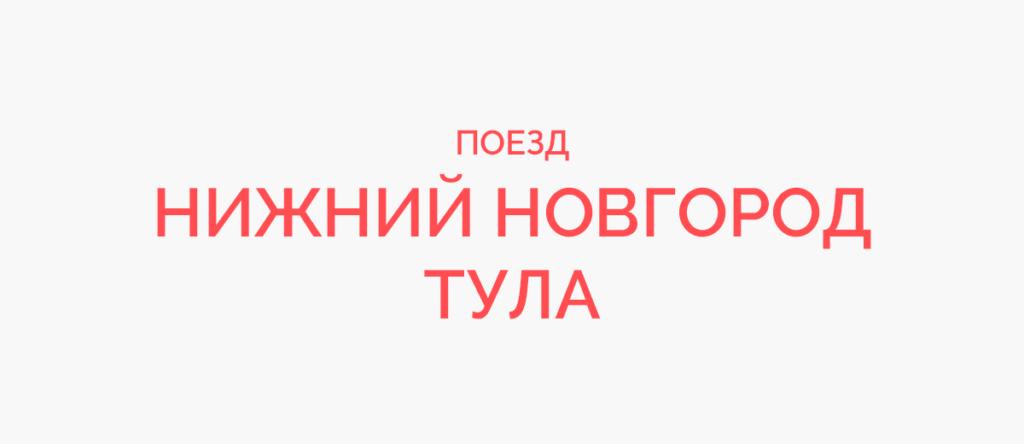 Поезд Нижний Новгород - Тула