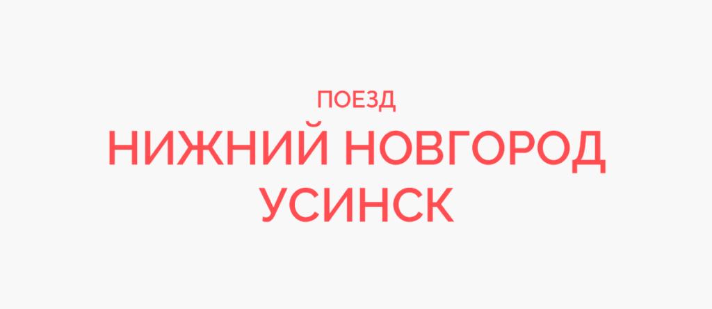 Поезд Нижний Новгород - Усинск